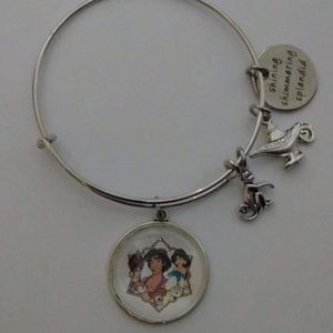 Jewelry - Disney Aladdin Silver Bangle Bracelet